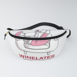Winelates - my kind of workout Fanny Pack