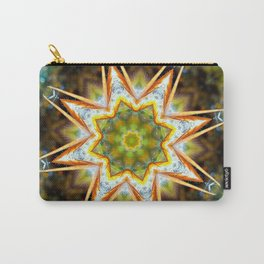 Flower Tree Mandela Carry-All Pouch