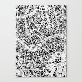 Tubes 2 Canvas Print