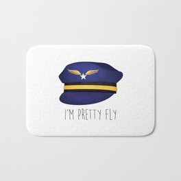 I'm Pretty Fly Bath Mat