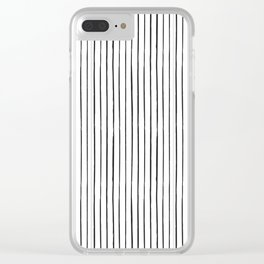 Minimal Pattern :: Lines Clear iPhone Case
