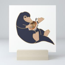 Salazar's Locket Niffler Mini Art Print