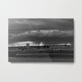 Storming North 84 Metal Print