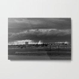 Storming North 84 Metal Print