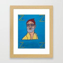 Steve Zissou:  Artist Rendition Framed Art Print
