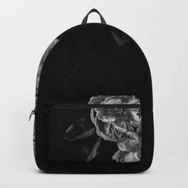 gray flowers in the corner Backpack