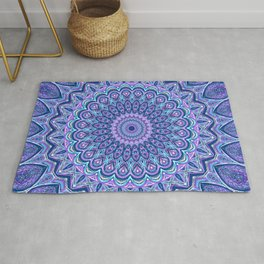 Purple Passion - Mandala Art Rug