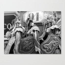 pupi siciliani Canvas Print