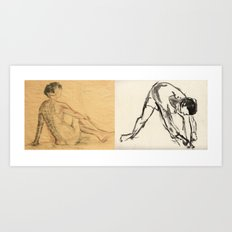 Human beings Art Print