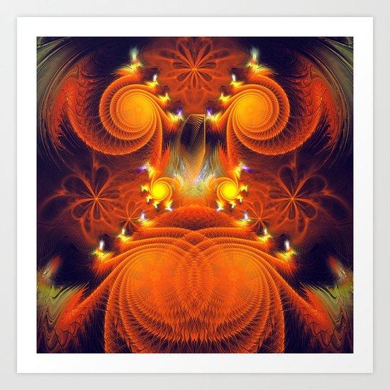 Full of Energy Art Print