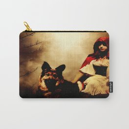 Red and Her Wolf Carry-All Pouch