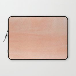 Coral Watercolor Laptop Sleeve