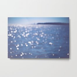 Indigo Sea Metal Print