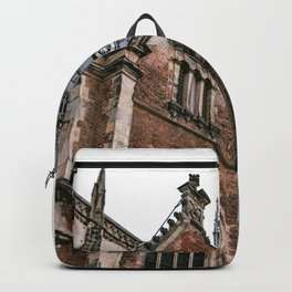 Saint Bavo Cathedral II in Haarlem from below | Iconic historical gothic architecture | Urban fine art print Backpack