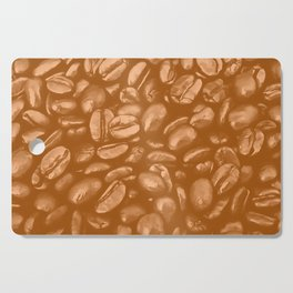 roasted coffee beans texture acrcb Cutting Board