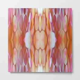 160 - colourful abstract design Metal Print