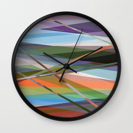 Abstract Composition 671 Wall Clock
