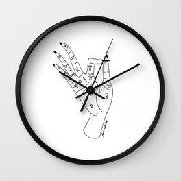 chiromancy Wall Clock