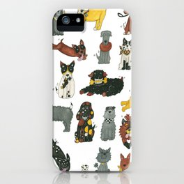 Resce Dogs iPhone Case