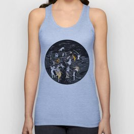 Meowlin Temple Unisex Tank Top