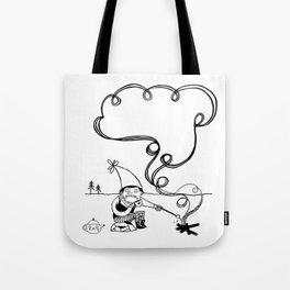 Tea and Marshmallows Tote Bag