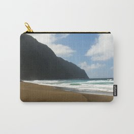 Empty Beach of Kalaupapa Carry-All Pouch