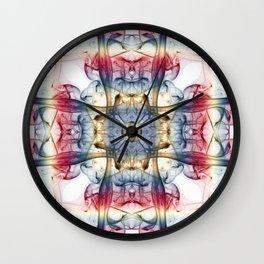 Smoke Art 39 Wall Clock