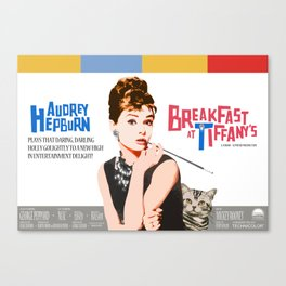 Breakfast at Tiffany's Canvas Print