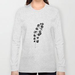 Watercolor Eucalyptus Long Sleeve T-shirt
