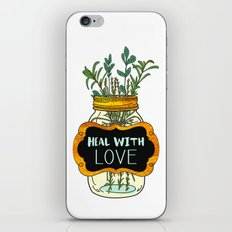 Heal With Love iPhone & iPod Skin