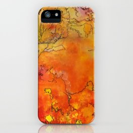 Yellow Dreams iPhone Case