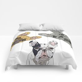 Triple Frenchies Comforters