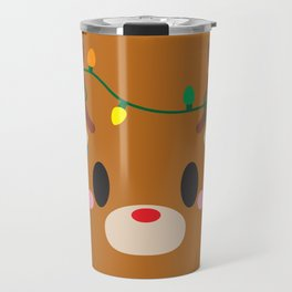 Reindeer Block - Limited Edition Travel Mug