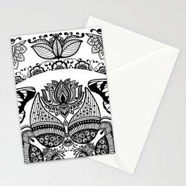 Mandala Art Henna Art Inspired  Stationery Cards