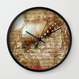 LE PAPILLON | tan Wall Clock