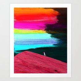 """The Run"" Art Print"
