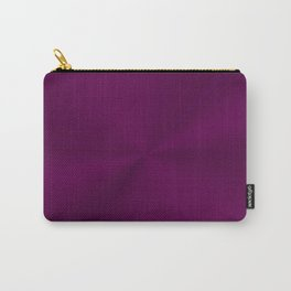 Luxurious regal purple with shiny effect Carry-All Pouch