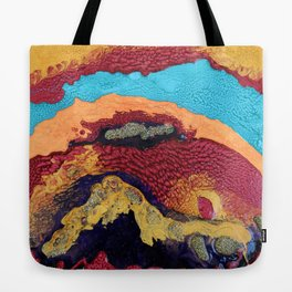 Waves of Debbie Tote Bag