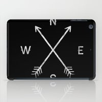 compass iPad Cases featuring Compass by Empyrie