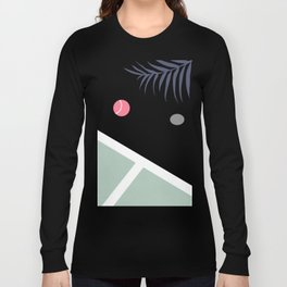 Tennis Court #society6 #decor #buyart Long Sleeve T-shirt