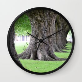 Cambridge tree 2 Wall Clock