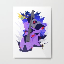 The Black Tri-Star's Dom Metal Print