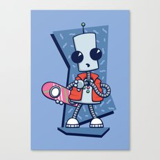 Ned the Time Traveller (1985) Canvas Print