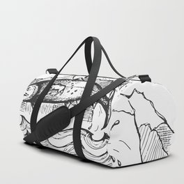 Wild Alaska Duffle Bag