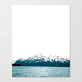 Abraham Lake, Alberta (Lake Level) Canvas Print
