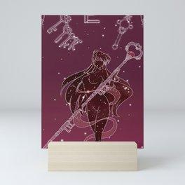 pretty guardian sailor moon Mini Art Print