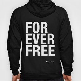 RX - FOREVER FREE - WHITE Hoody