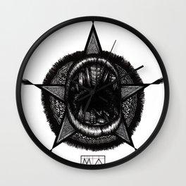 Mouthattan Wall Clock