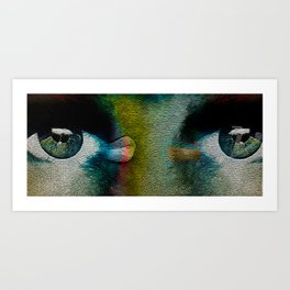 wall eye Art Print