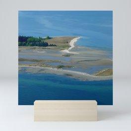 Island Flyover Mini Art Print